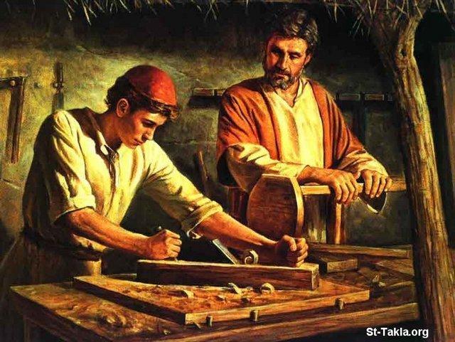 الاســـم:www-St-Takla-org--Jesus-Childhood-05.jpg المشاهدات: 2618 الحجـــم:69.0 كيلوبايت