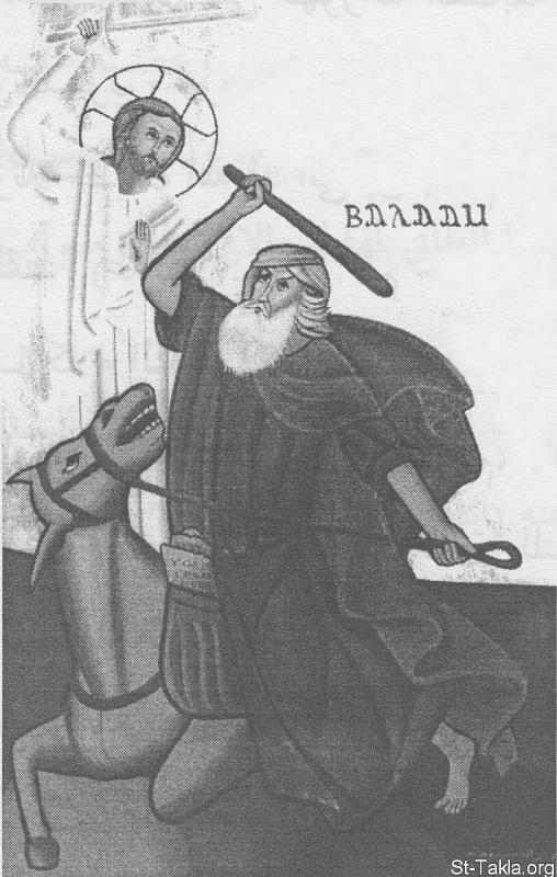 اضغط على الصورة لعرض أكبر.  الإسم:www-St-Takla-org--Damiana-Monastery-icon-Balaam.jpg مشاهدات:283 الحجم:419.5 كيلوبايت الهوية:13788