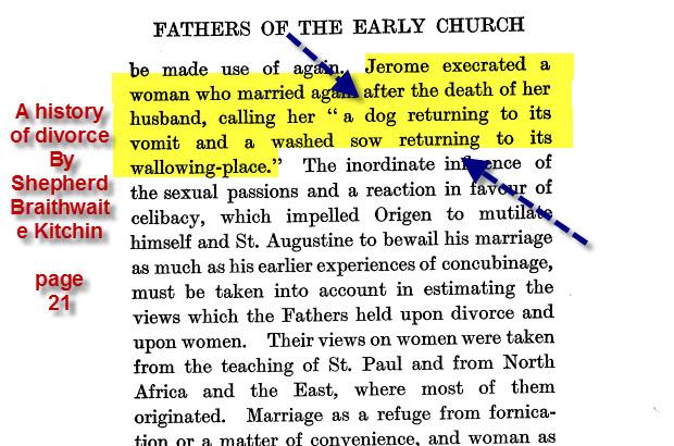المرأة المسيحية والعار وثائق مسيحية